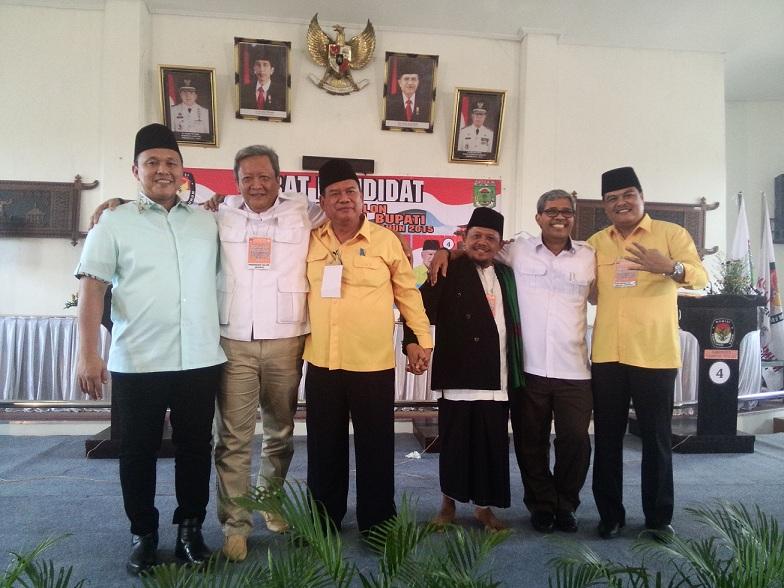 Debat Kandidat Lamteng, Tiga Paslon Nyatakan Siap Menang dan Siap Kalah