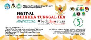 Festival Bhineka Tunggal Ika. | Ist.