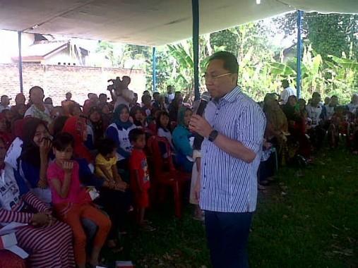 Ketua MPR RI Zulkifli Hasan Hadiri Kampanye Cabup Lamsel
