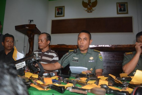 Korem 043/Gatam Ajak Masyarakat Lampung Serahkan Senjata Ilegal