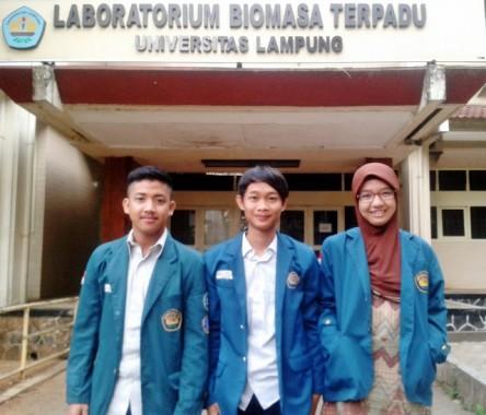 Mahasiswa Kimia FMIPA Universitas Lampung Masuk Final OSN Pertamina