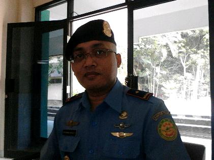 Ketua Basarnas Lampung, Setiawan Garda. Sugiono/Jejamo.com