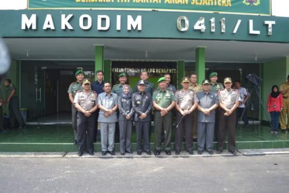 Kodim 0411 Lampung Tengah Terjunkan 600 Personel Amankan Pilkada Serentak