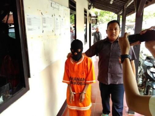 Polresta Bandar Lampung Bekuk Kurir Narkoba