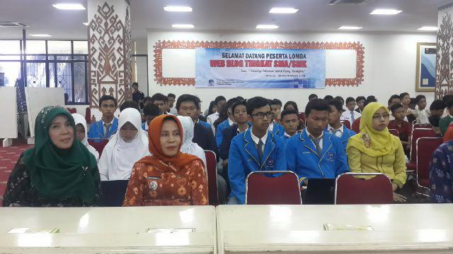 56 Pelajar Bersaing dalam Lomba Web Blog se-Lampung
