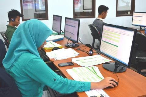 BKKBN Lampung libatkan mahasiswa Darmajaya dalam pendataan jumlah penduduk. | Ist.