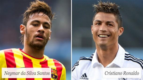 neymar vs c ronaldo