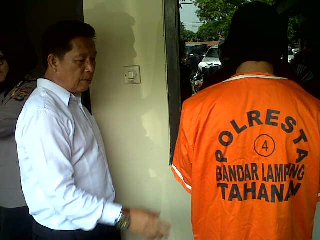 Polresta Bandar Lampung Tangkap Residivis Narkoba