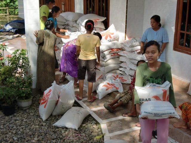 Raskin Mahal, Lurah Yosorejo Metro Lampung: Saya Tidak Tahu Menahu Soal Itu