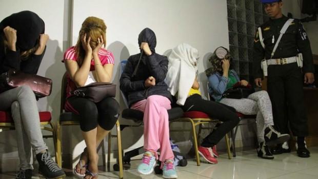 Prostitusi Pak Kumis Dirazia, Polisi Amankan Empat PSK