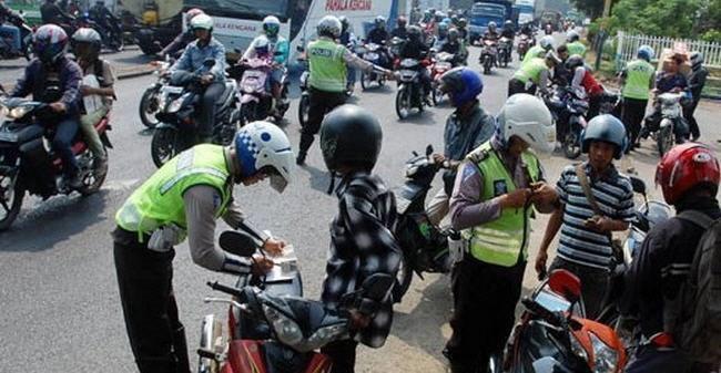 Operasi Zebra Krakatau, Polresta Lampung Keluarkan 2420 Surat Tilang
