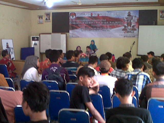 KPU Bandar Lampung Sosialisasi Pilkada Bagi Penyandang Disabilitas