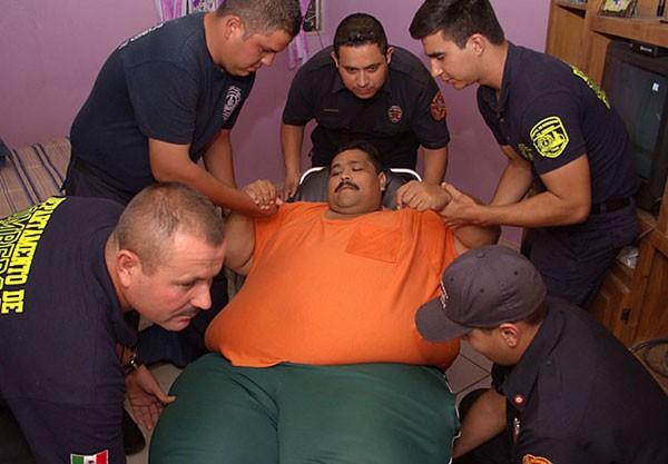 Andres Moreno Sepulveda, pria berbobot 444 Kg asal Meksiko tutup usia. | mexiconewsdaily.com