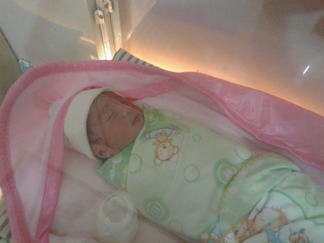 Bayi laki-laki yang dibuang orang tuanya di Rajabasa Bandar Lampung | Andi/jejamo.com