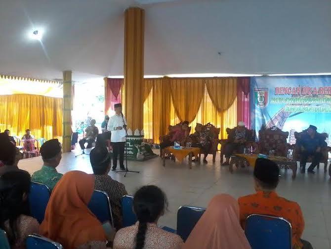 Tutup Tahun 2015, Pemkab Pringsewu Doa Bersama