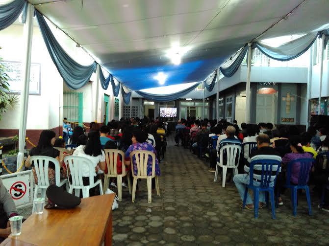 Polda Lampung Amankan Misa Malam Natal di Gereja Katedral Bandar Lampung
