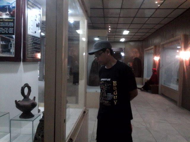 Heri Pengunjung Museum Lampung | Widya/jejamo.com