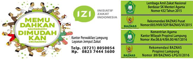 Inisiatif Zakat Indonesia Lampung