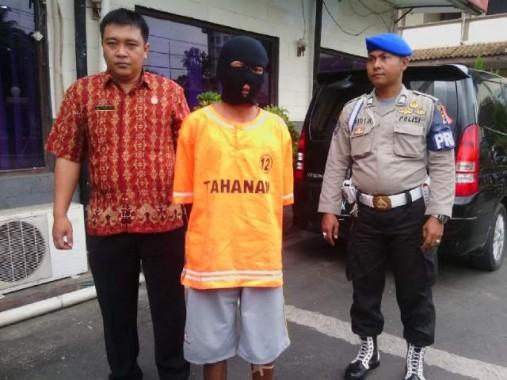 Nyolong Kabel 5 Gulung di Gudang Bandar Lampung, Jaka Kecipratan Rp2 Juta