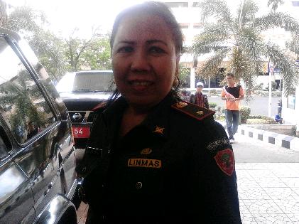 Kepala Dinas Perdagangan Provinsi Lampung Ferinia | Sugiono/jejamo.com