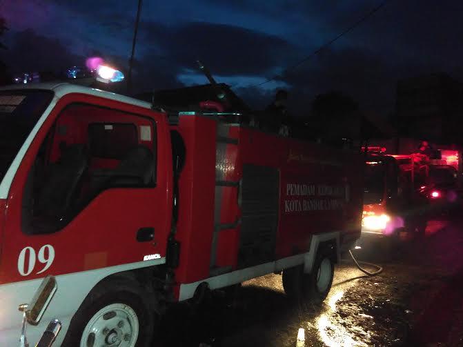 Breaking News: Penyebab Kebakaran Sumur Putri Bandar Lampung Karena Korsleting Listrik