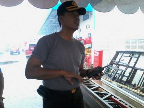 Kebakaran di Lampung Selatan
