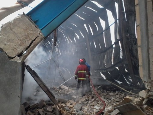 Kebakaran PT Bintang Bukit Barisan Disebabkan Korsleting Listrik