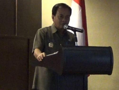 Kepala BKD Lampung Zaini Nurman. | Widyaningrum/jejamo.com