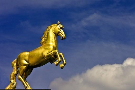 Kuda Emas Diyakini Pernah Hidup di Cina