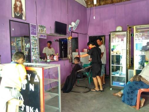 """Libur Panjang, Penjual Jasa Potong Rambut dan Salon Kecantikan """"Banjir"""" Rezeki"""