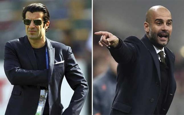 Luis Figo: Tak Sulit Menebak ke Mana Guardiola Berlabuh