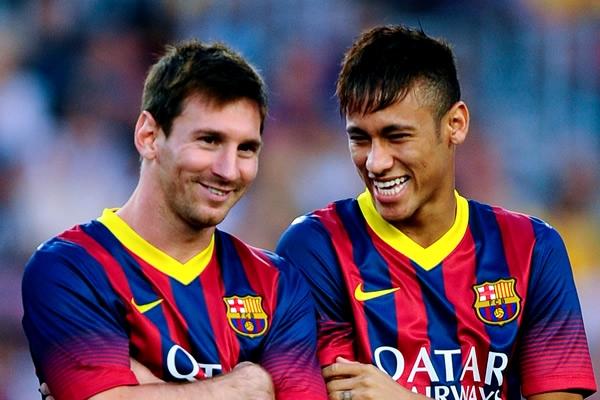 Messi dan Neymar | Getty Images