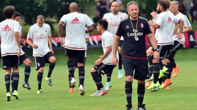 Pelatih AC Milan Sinisa Mihajlovic | ist