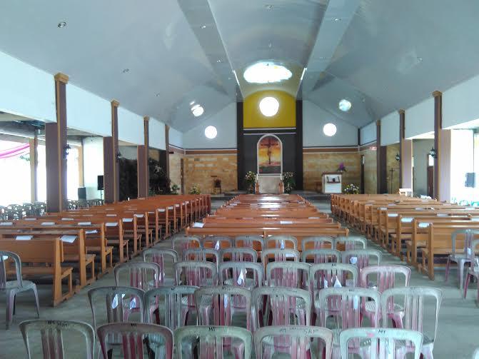 Gereja Katolik Santa Perawan Maria, Pekalongan, Lampung Timur | Wahyu/jejamo.com