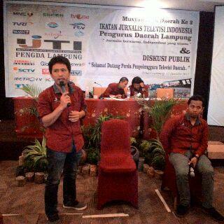 Breaking News: IJTI Lampung Punya Ketua Baru Aris Susanto