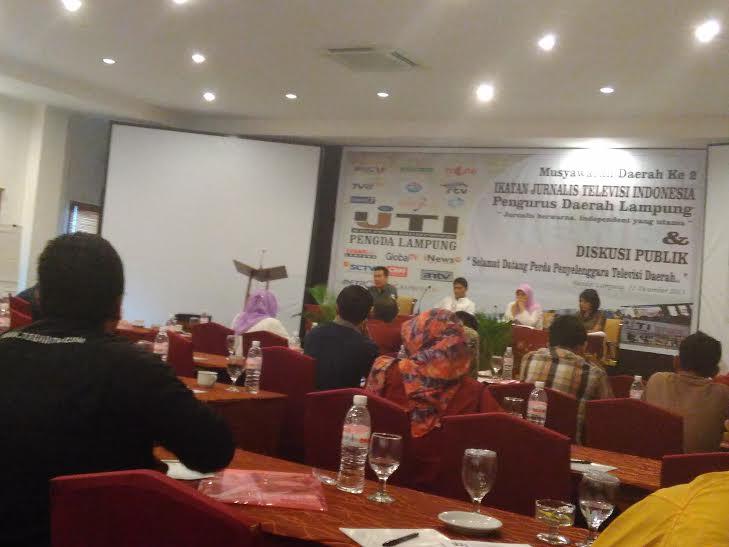 Musda IJTI Penda Lampung | Andi/jejamo.com