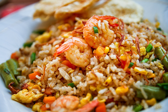 Nasi goreng sea food | ist