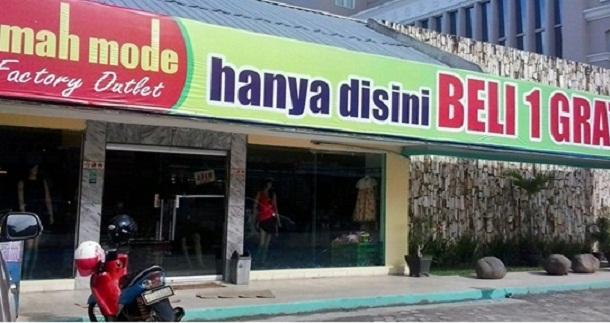 Omah Mode Bandar Lampung Promo Beli Satu Gratis Dua