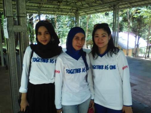 PT Haier Sales Indonesia Gelar Family Gathering di Lembah Hijau