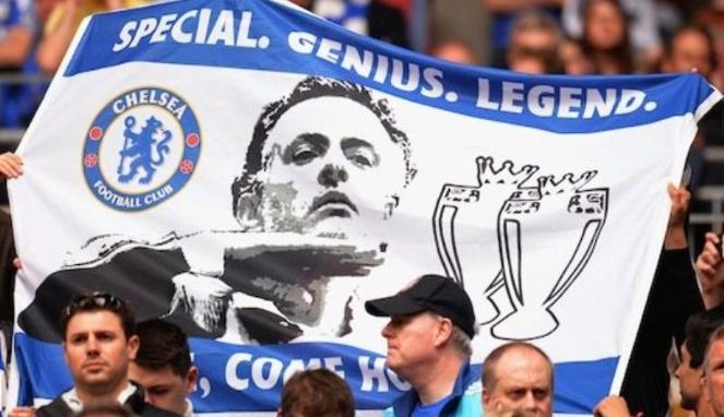 Pendukung Chelsea Tolak Salahkan Mourinho