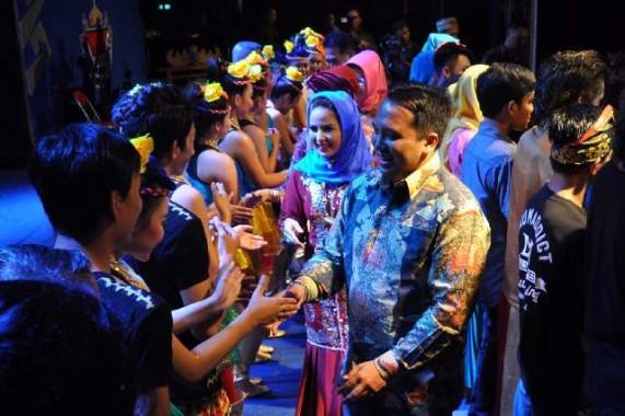 Seniman Lampung Gelar Pentas Pelangi Seni Budaya