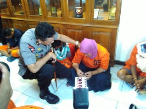 Pasangan Selingkuh Ditangkap Reskrim Polresta Lamsel
