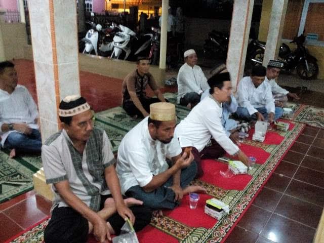 Hujan Deras dan Mati Lampu, Masjid Taqwa Sepang Jaya Semangat Gelar Maulid Nabi