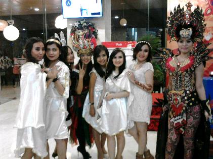 Negeri Dongeng Tema Malam Tahun Baru di Hotel Horison Bandar Lampung
