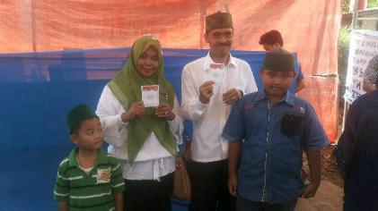 Perolehan Sementara Quick Count Pilkada Lampung Selatan, Tim Ko-Ki Mulai Hitung Suara
