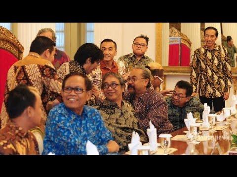 Sidang MKD Panas, Presiden Malah Undang Belasan Pelawak ke Istana Negara