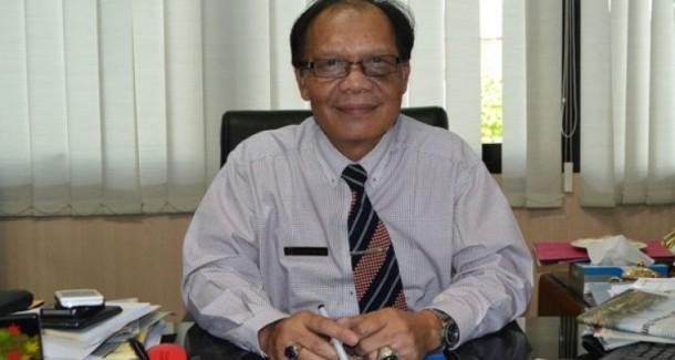 Rektor Unila Hasriadi Mat Akin. | Ist