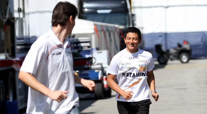 Kans Rio Haryanto Gabung F1 Makin Lebar