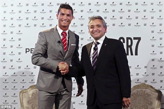 Ronaldo and Pestana Hotel Group