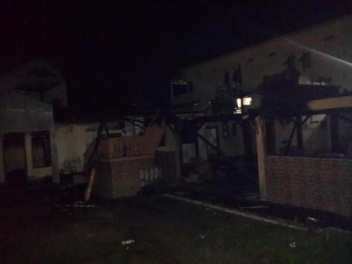 Kerugian Kebakaran Rumah Adat di Pringsewu Capai Ratusan Juta